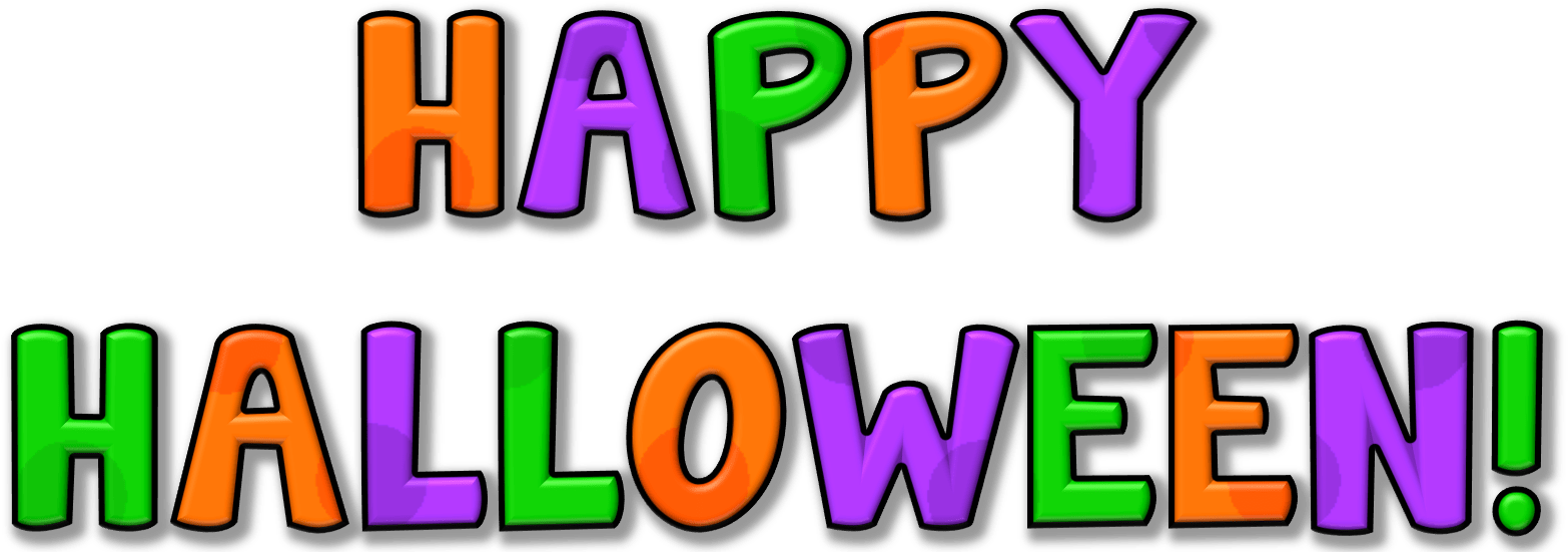 Free Happy Halloween Clipart - Png Download - Full Size ...