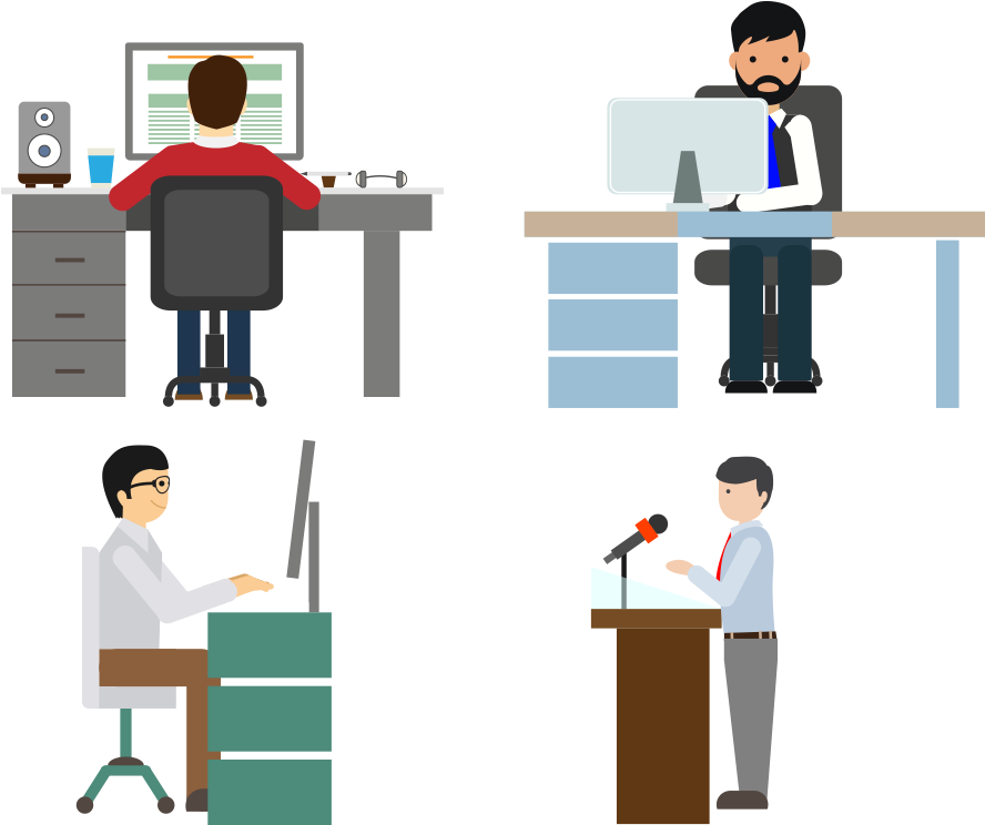 working vector computer worker working people vector png clipart full size clipart 419984 pinclipart people vector png clipart