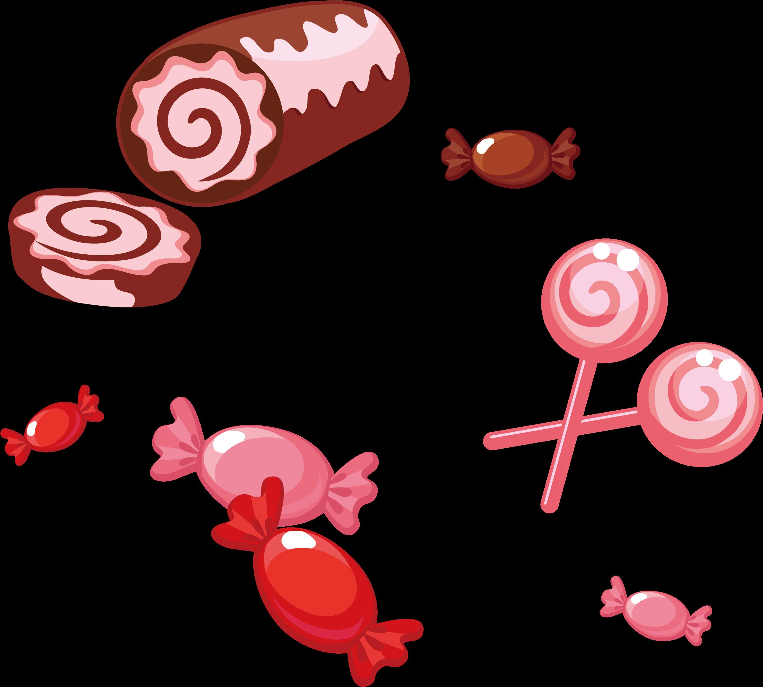 Candy Cartoon Cute Little Transprent Png Bolo De Rolo Png