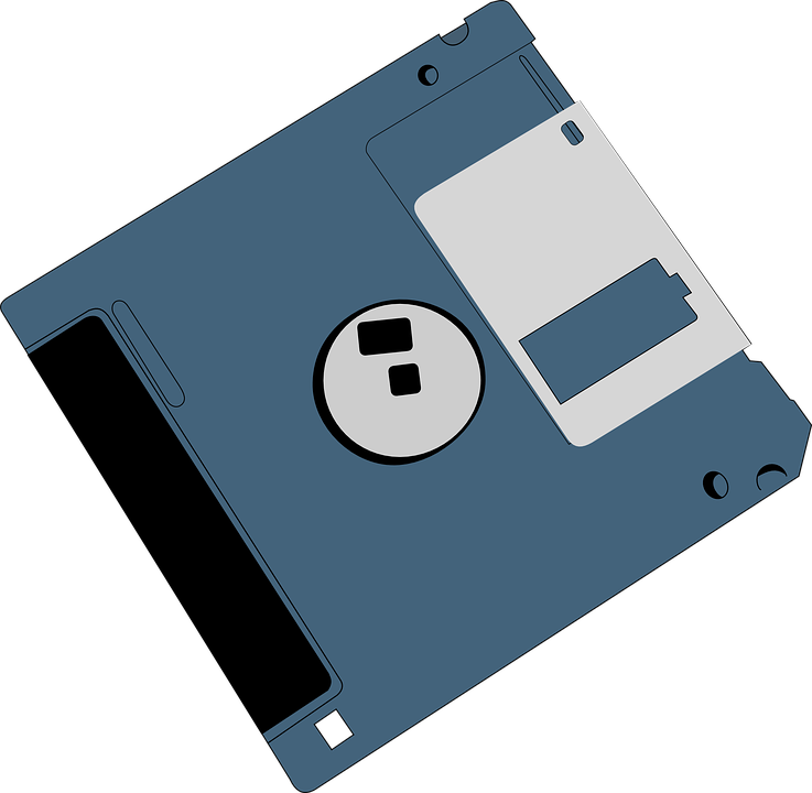 Clipart Of Floppy, Disks And Disk Storage - Gadget - Png ...