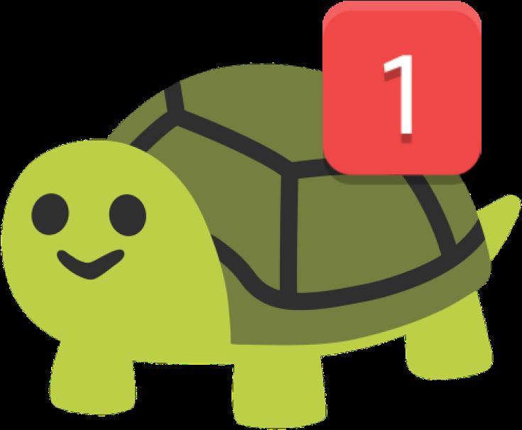 Download Happy Turtle Ping Discord Emoji - Turtle Emoji ...
