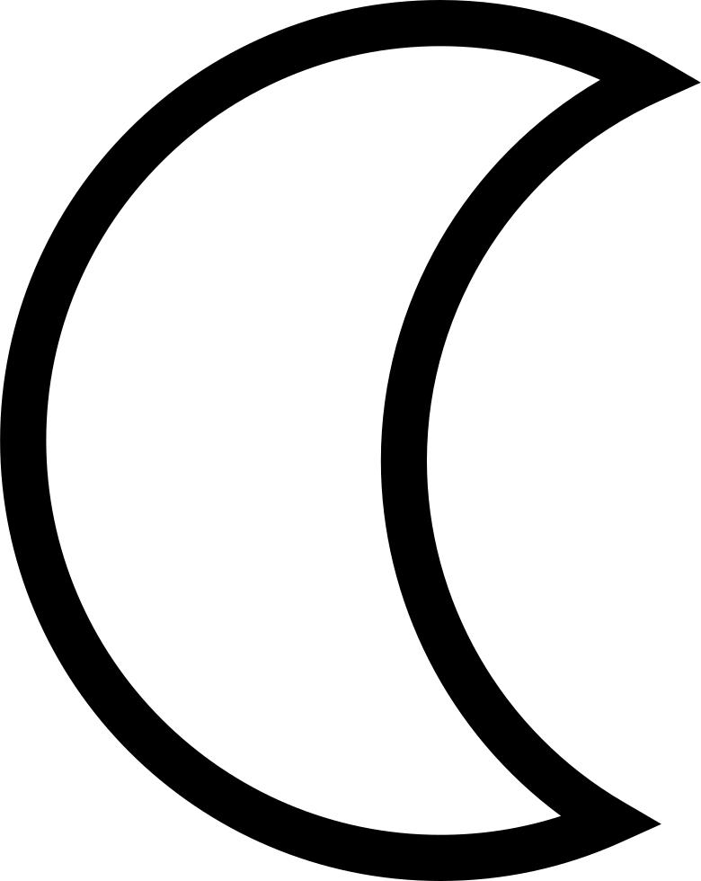 png free download crescent moon clipart free half moon vectors transparent png full size clipart 427084 pinclipart png free download crescent moon clipart
