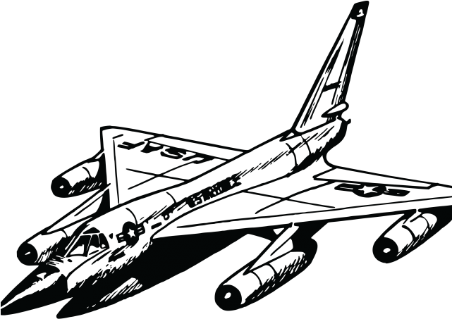 airplane line drawing png