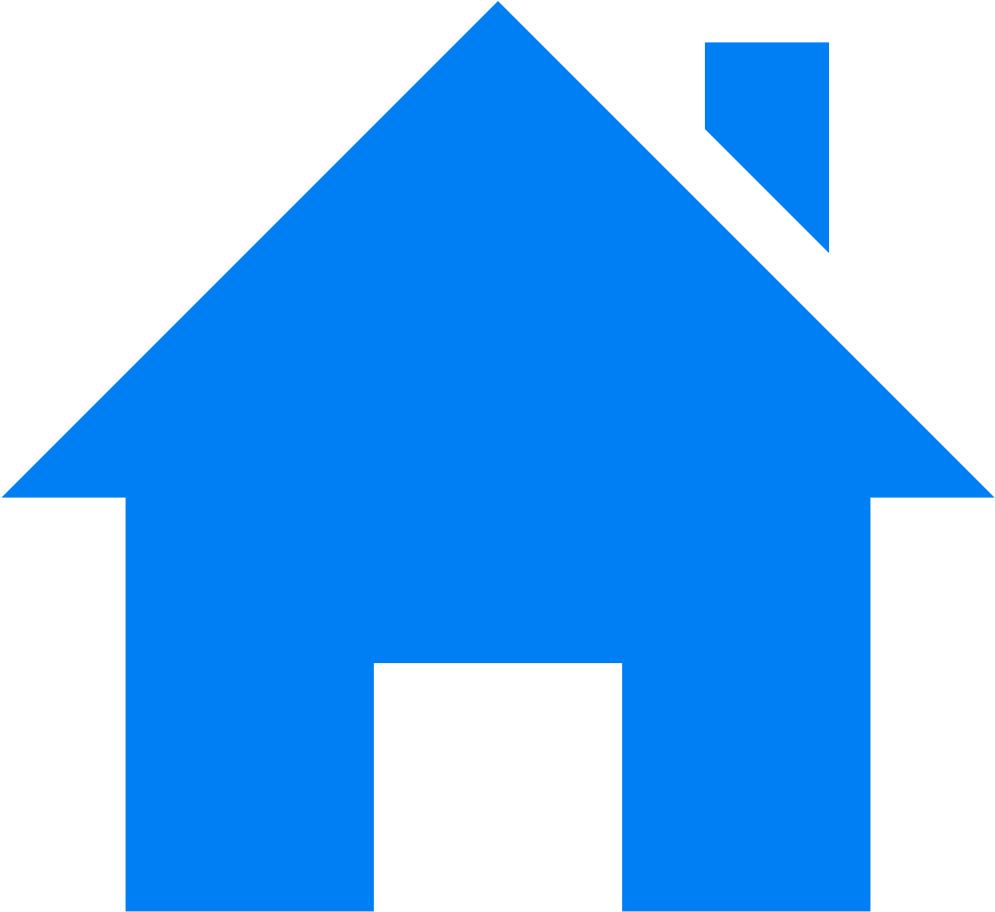 Collection Of - Home Icon Blue Png Clipart - Full Size ...