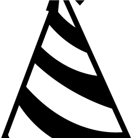 Birthday hat black and white clip art - Birthday hat black and white clipart  photo - NiceClipart.com