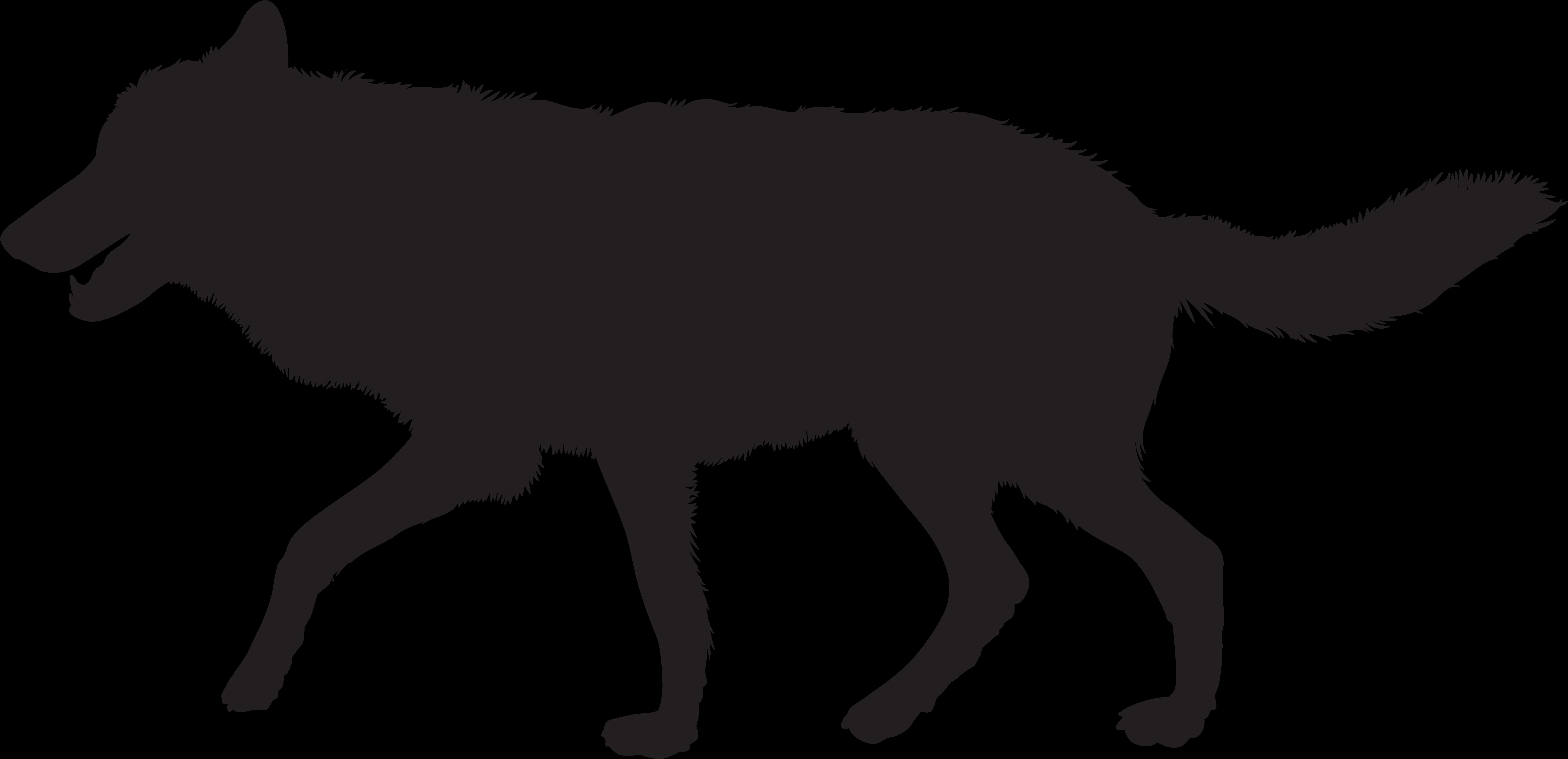 Wolf Silhouette Png Clip Art Imageu200b Gallery ...