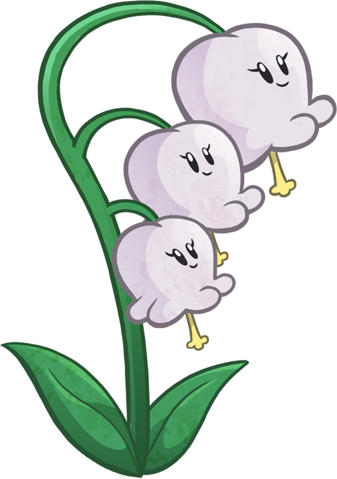 Lily Of The Valley Plants Vs Zombies Pvz Heroes Lily Of The Valley Clipart Full Size Clipart 449420 Pinclipart