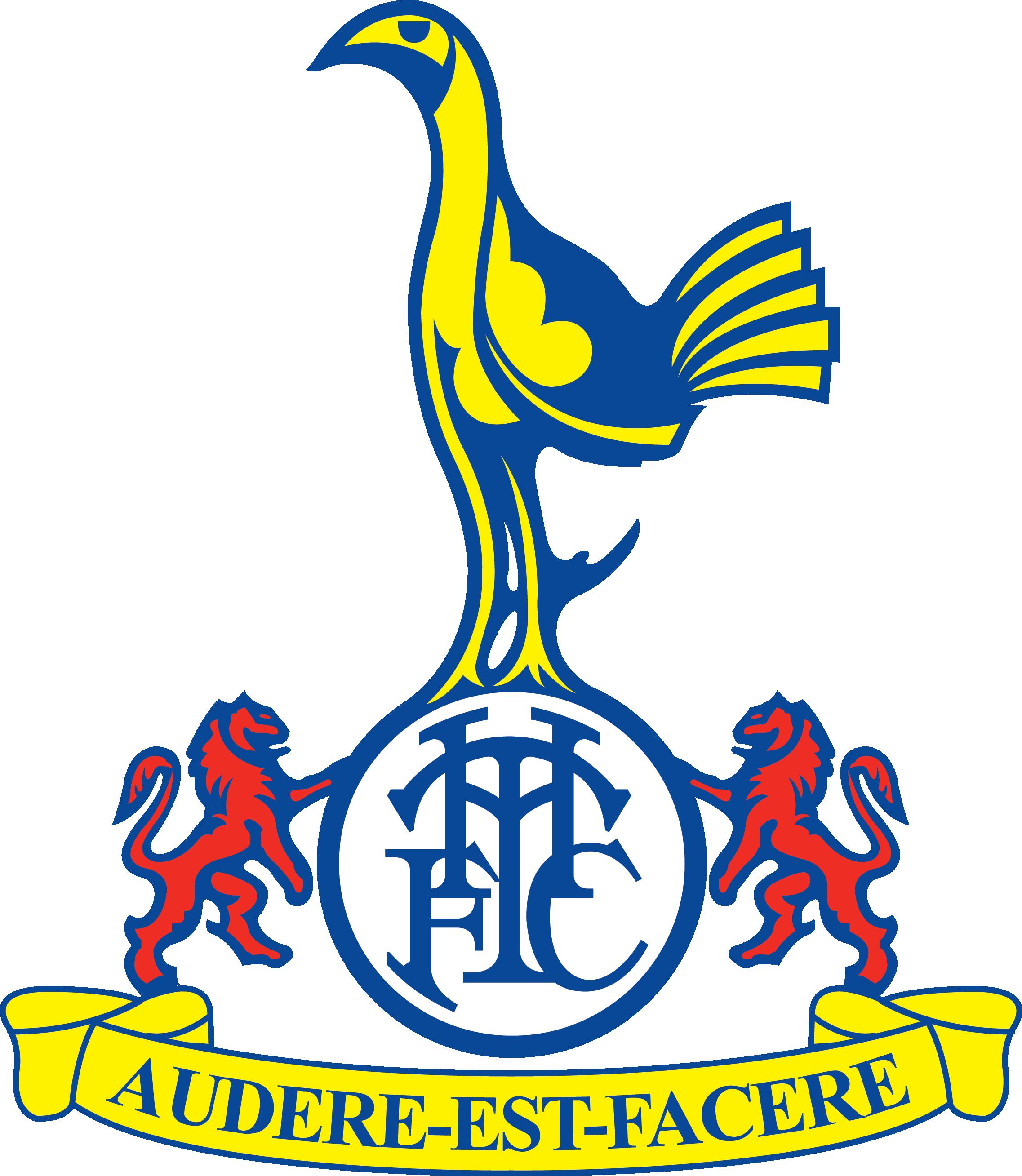 Tottenham Hotspur Tottenham Hotspur Old Logo Clipart Full Size Clipart 4466628 Pinclipart