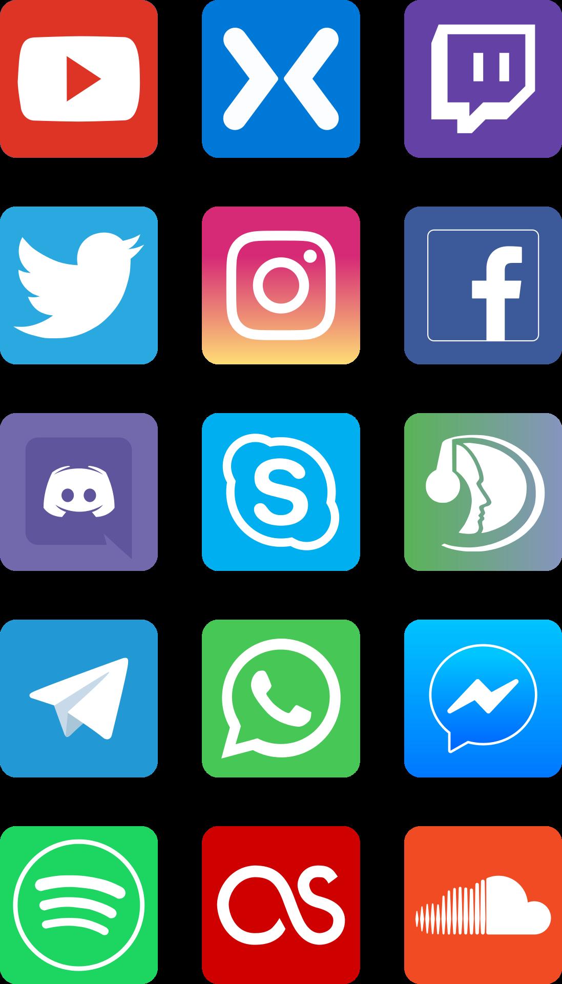 led sign social network - 731×1280