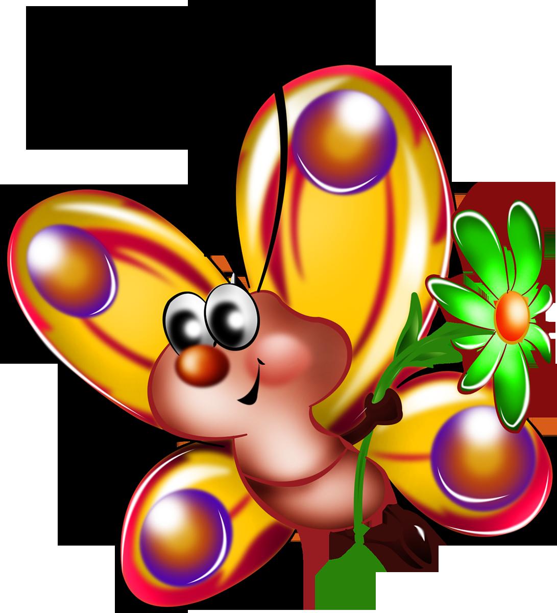 Картинки для детей цветочки и бабочки