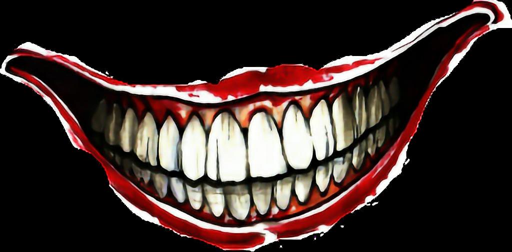Joker Sticker Jokers Smile Tattoo On Hand Clipart Full Size Clipart 4520954 Pinclipart
