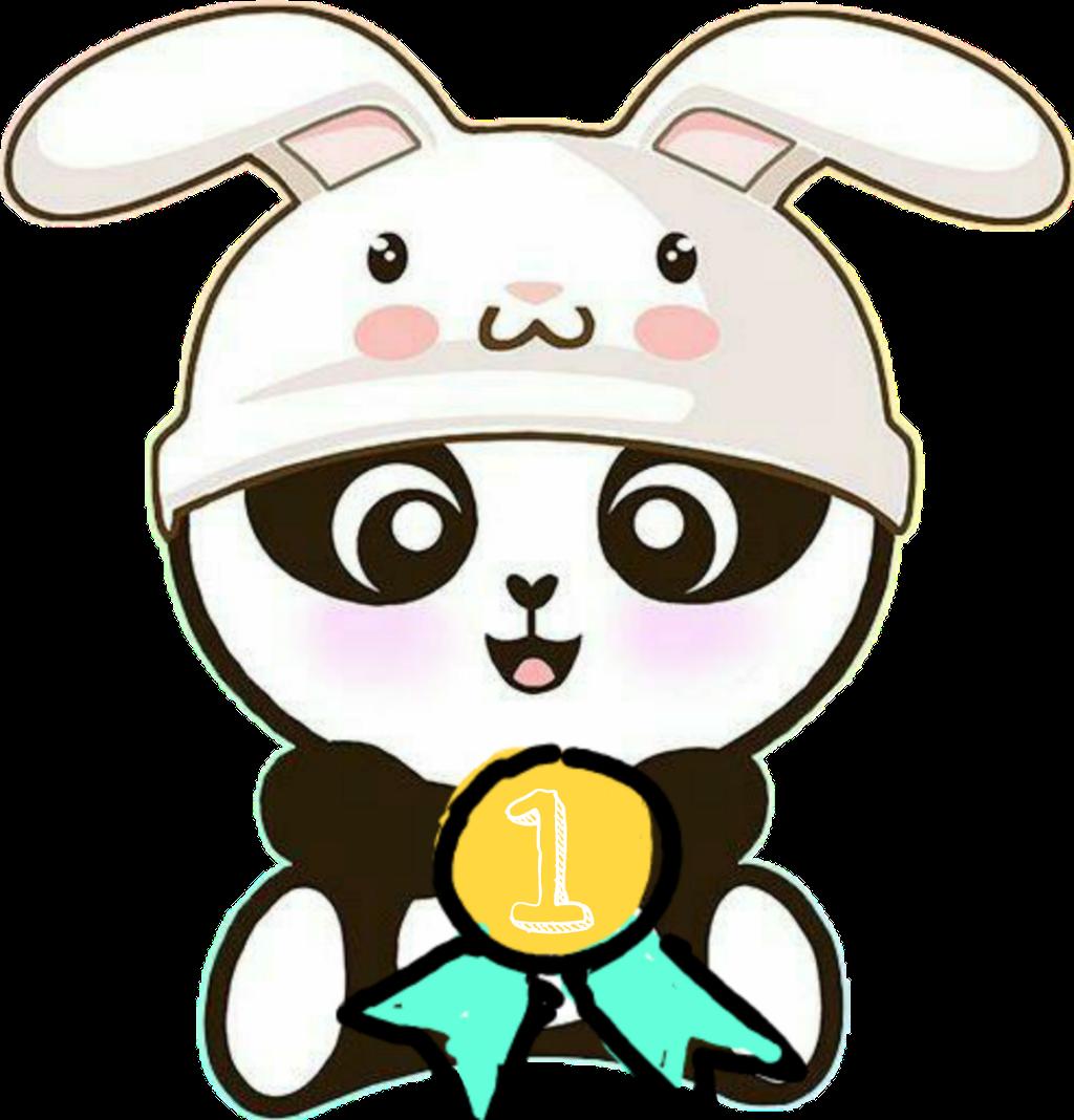 Panda Medals Sweet Dibujos De Pandas Unicornios Clipart Full