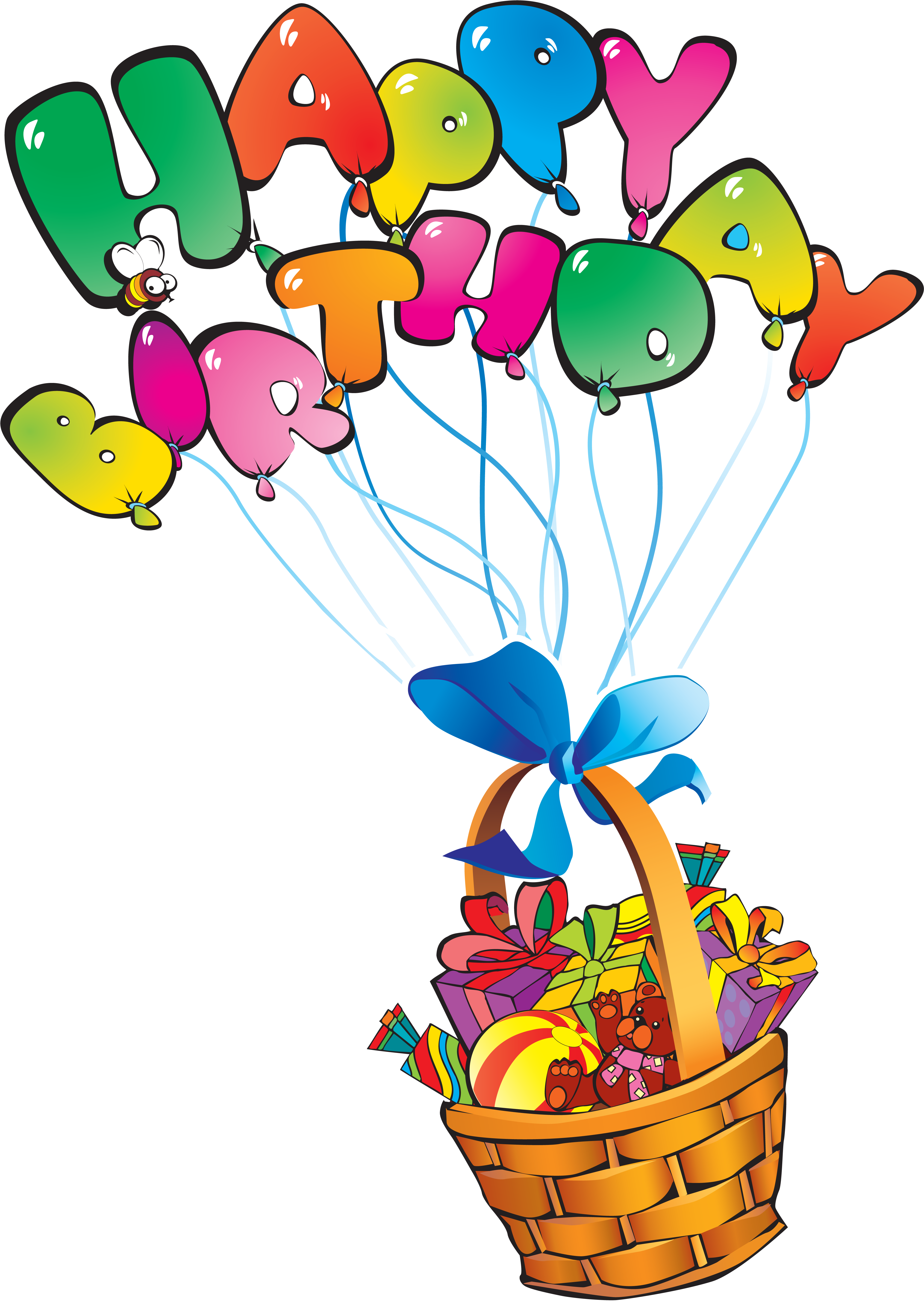 Bon Anniversaire Happy Birthday Vector Clipart Full Size Clipart