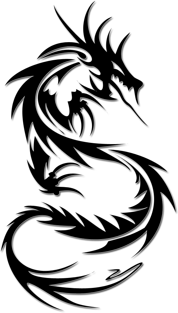 Dragon Tattoos Png Transparent Images - Dragon Tattoo On ...