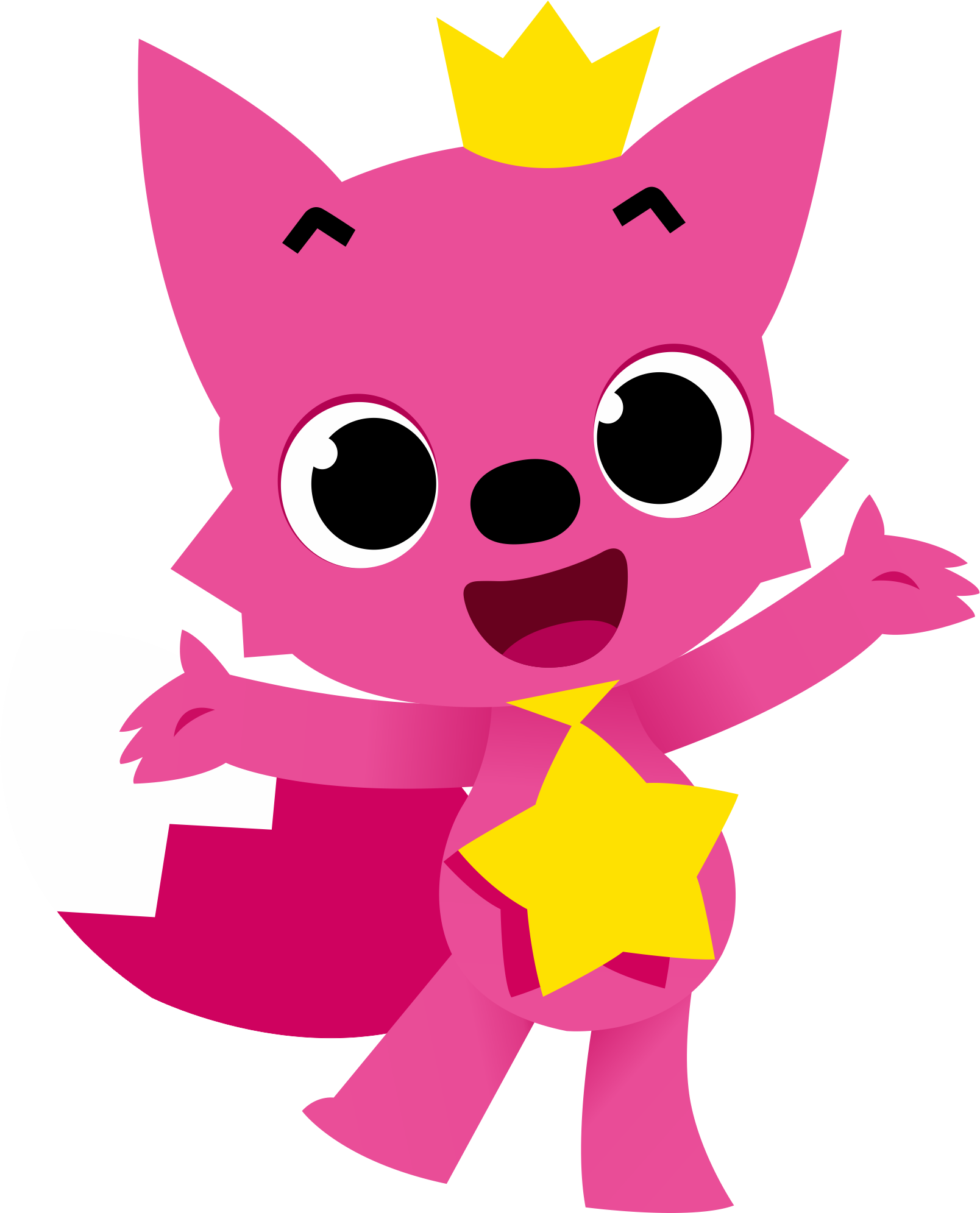 Pinkfong Baby Sharks Characters - Pinkfong Baby Shark Png ...