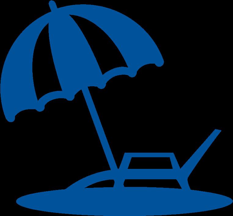Vacation Savings Account - Umbrella Clipart - Full Size