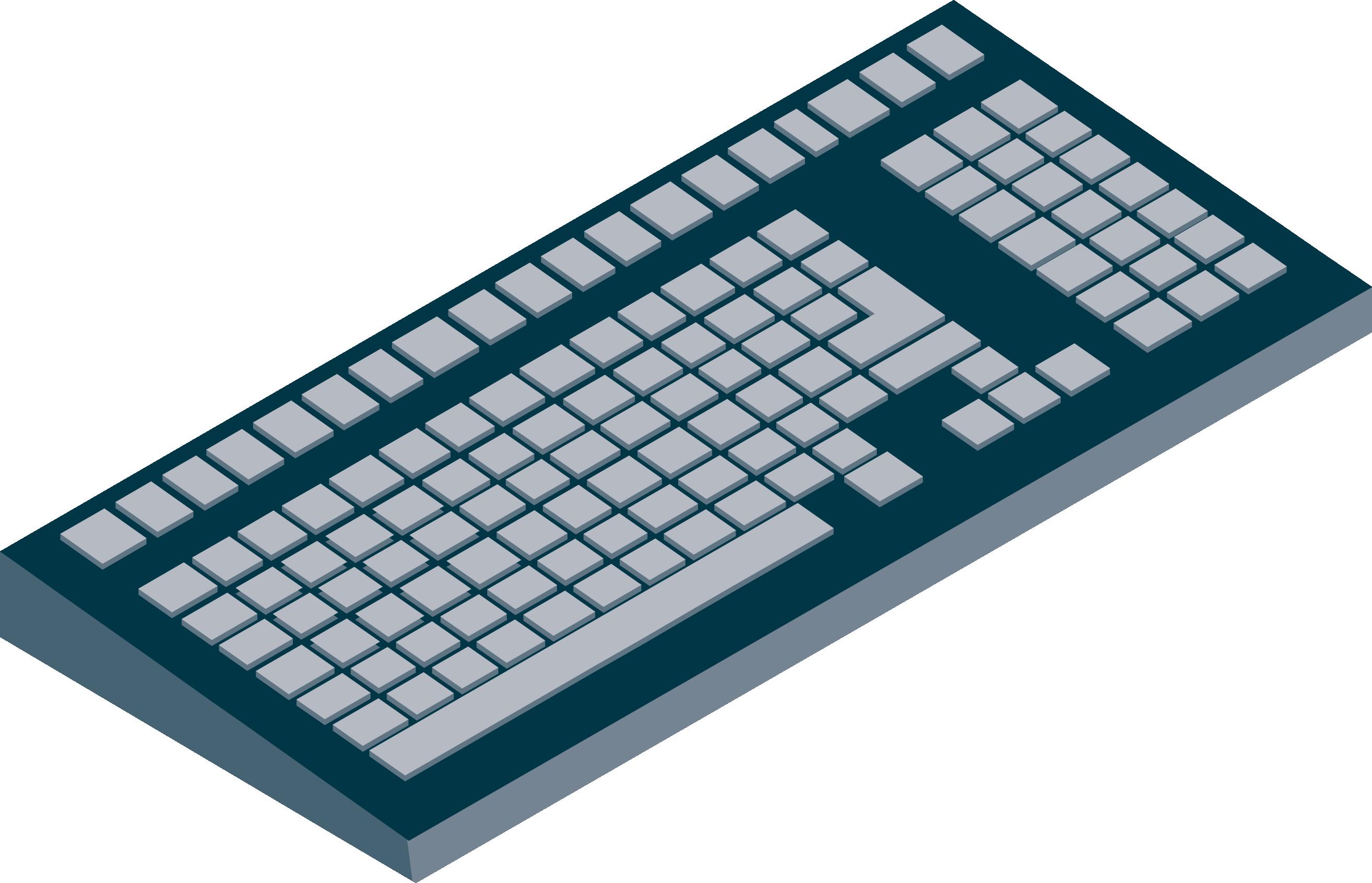 Cartoon Keyboard Png - Dell 7390 Palmrest Clipart - Full ...
