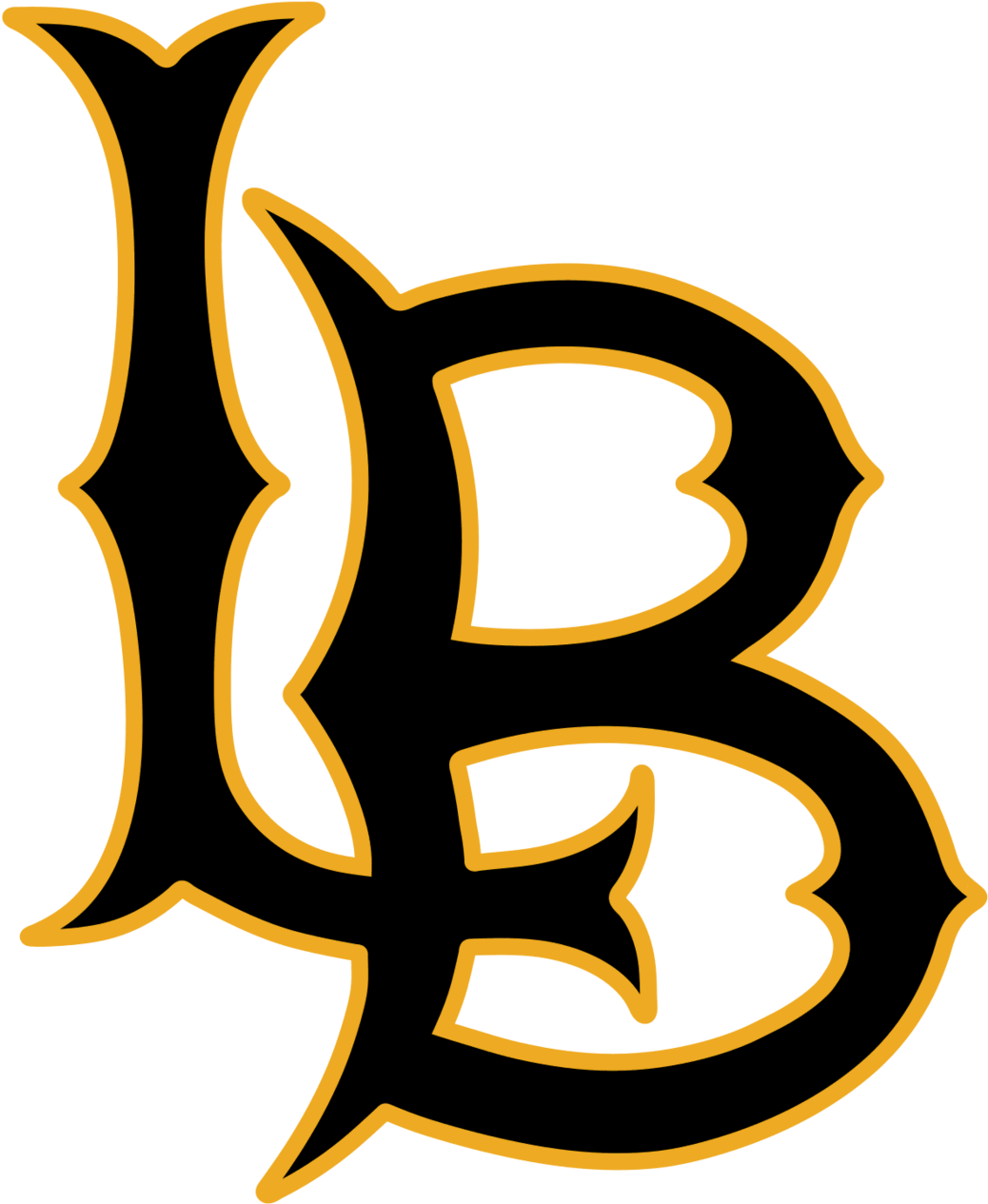 Clip Art Black And White Library File Long Beach State Long Beach State Basketball Logo Png Download Full Size Clipart 53859 Pinclipart