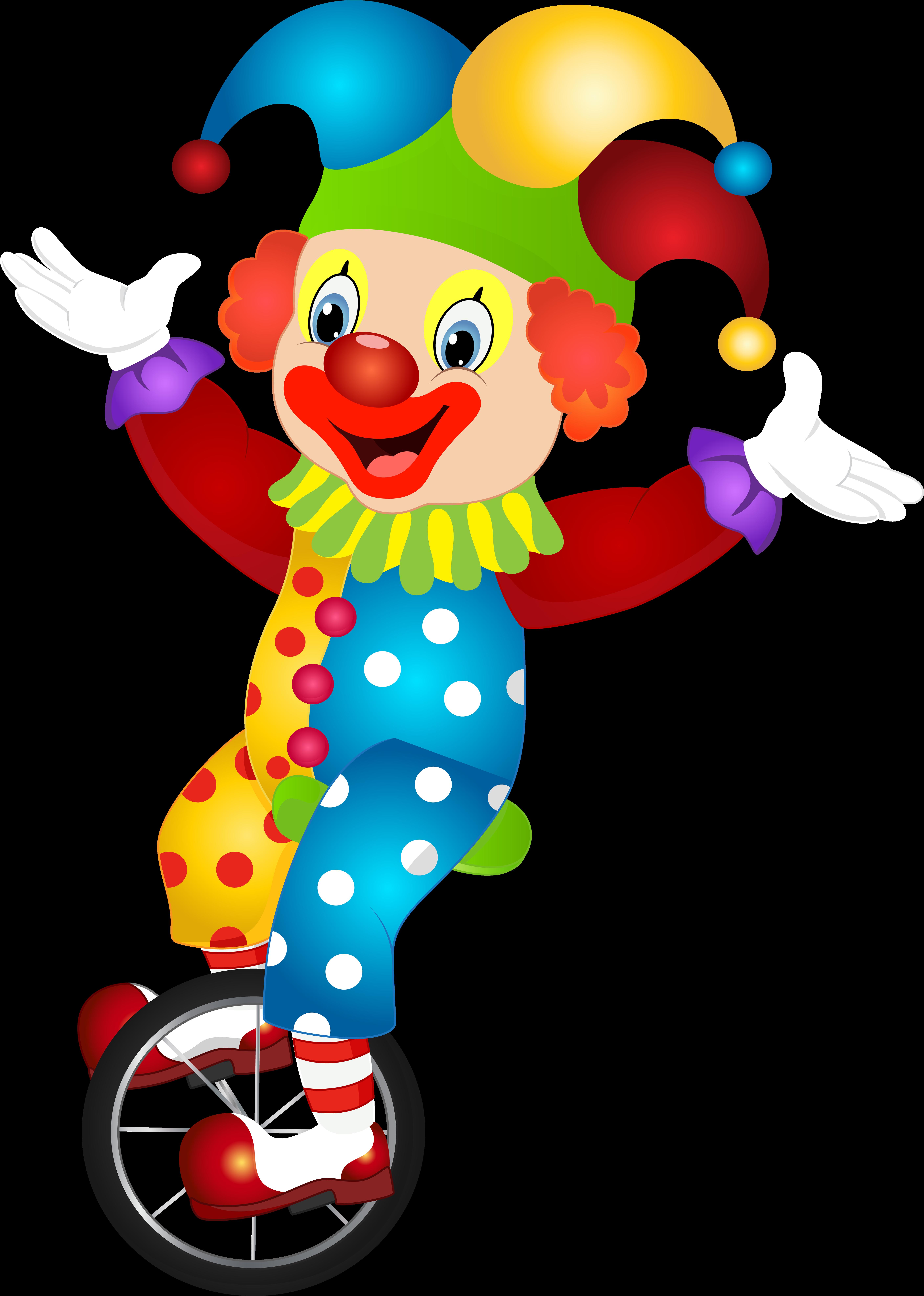 Смешные рисунки клоунов, открытки бумаги