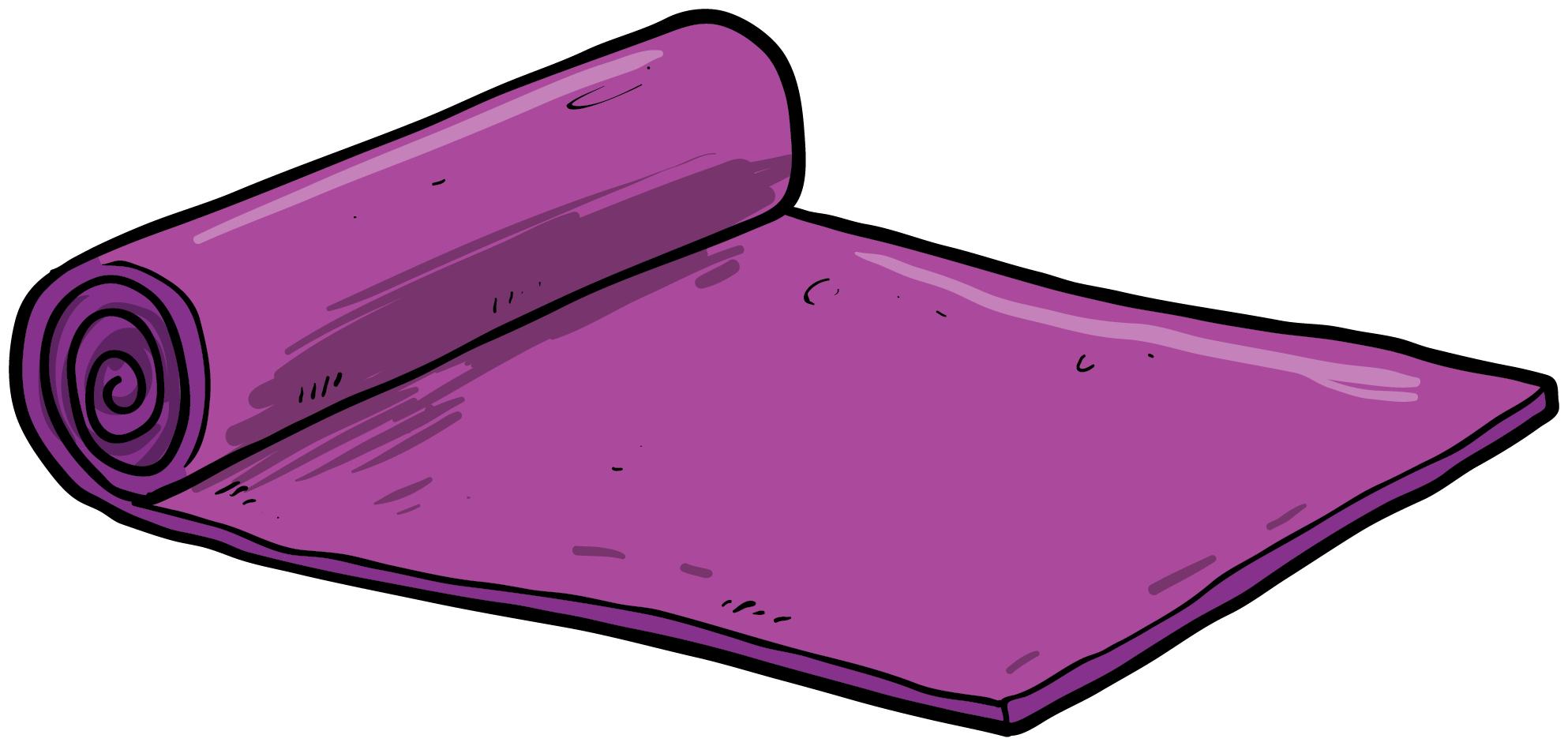 Transparent Yoga Mat Clipart Yoga Mat Clipart Png Download Full Size Clipart 5210683 Pinclipart