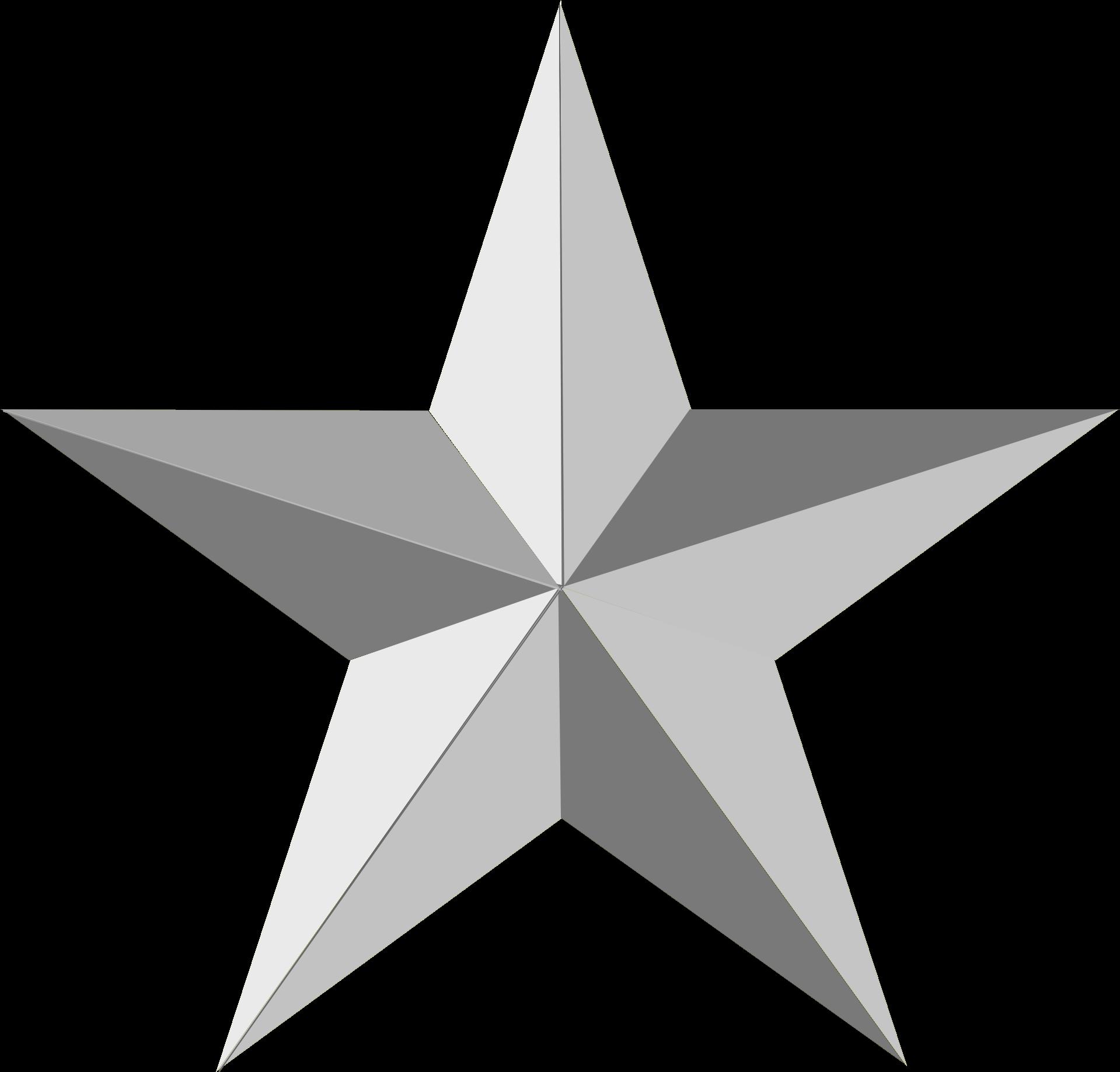 Transparent Christmas Star Clip Art - Silver Star No ...