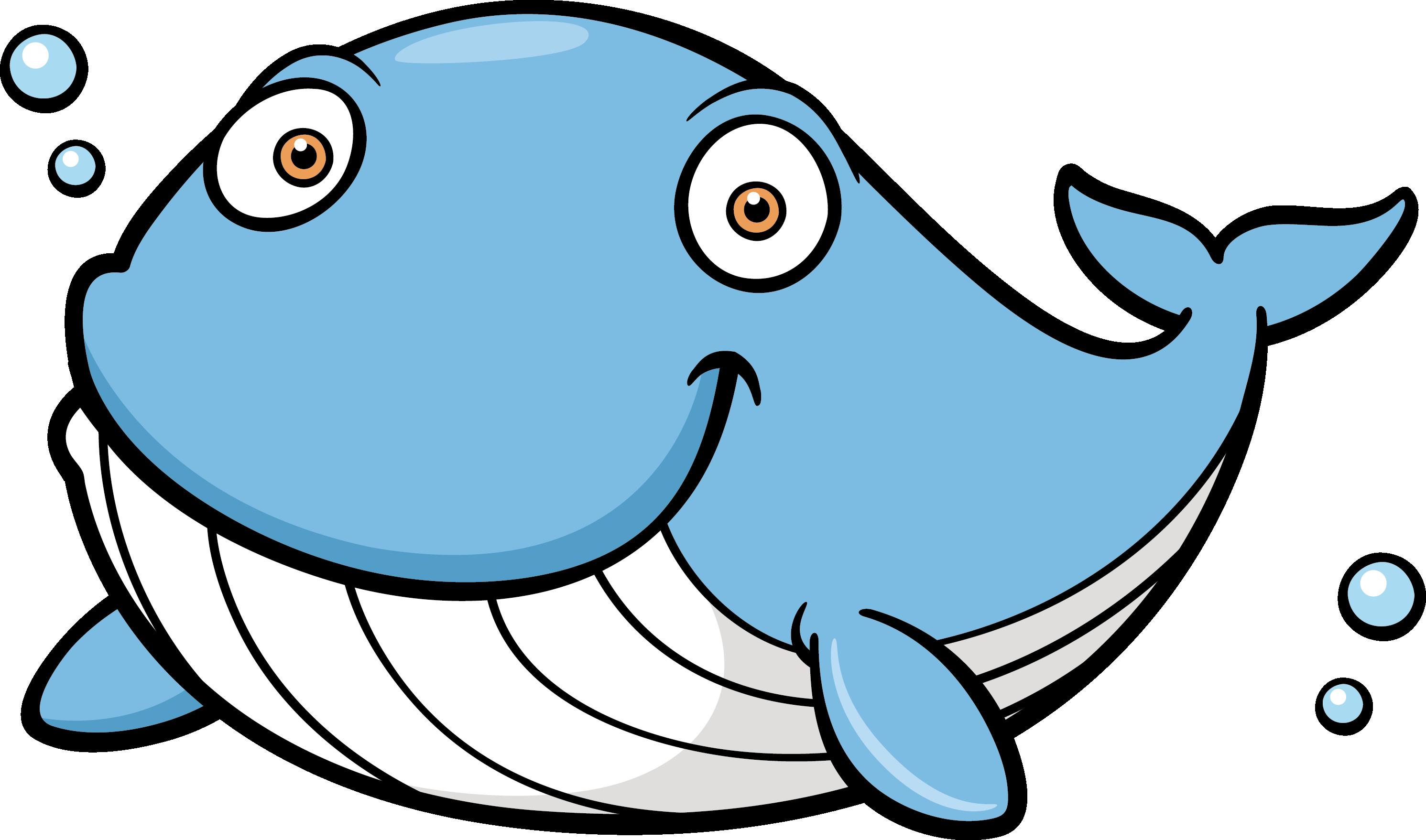 Transparent Whale Clipart Png - Blue Whale Cartoon Png ...