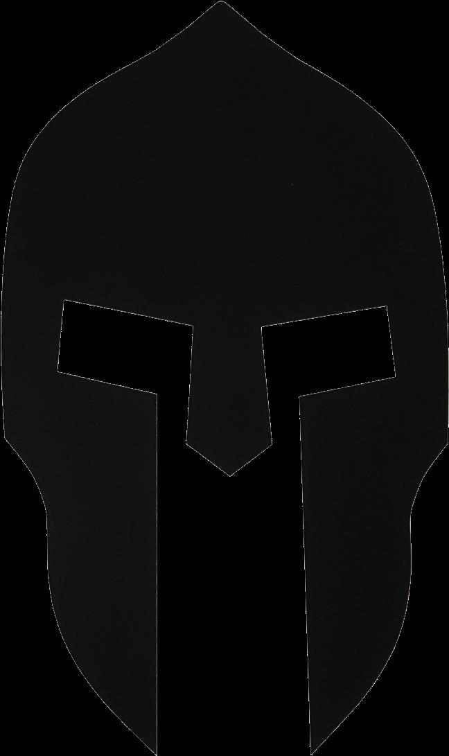 Transparent Trojan Head Clipart - Spartan Helmet Logo ...