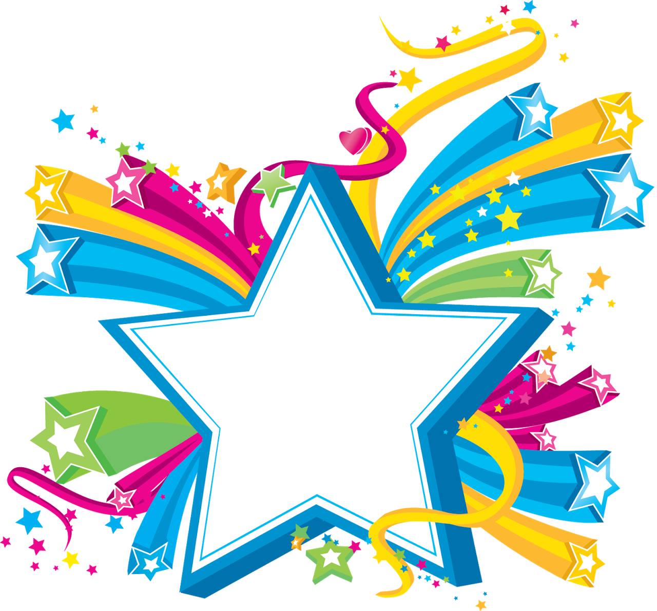 Clip Art Shooting Stars - Png Download - Full Size Clipart ...