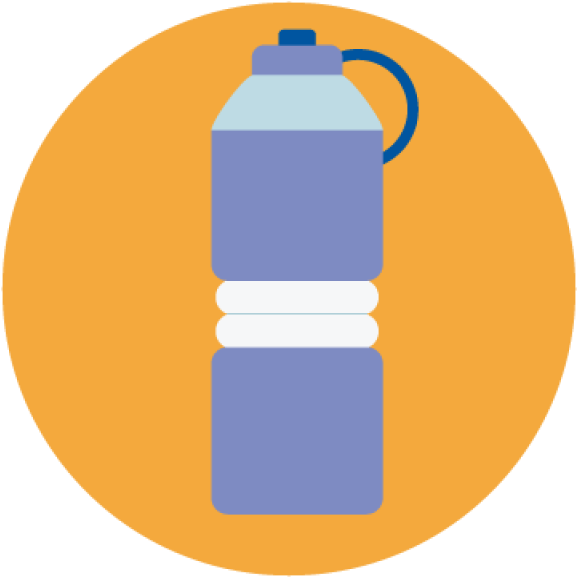 Reusable Water Bottle Clipart Png Download Water Reusable Bottle Cartoon Transparent Png Full Size Clipart 5256074 Pinclipart