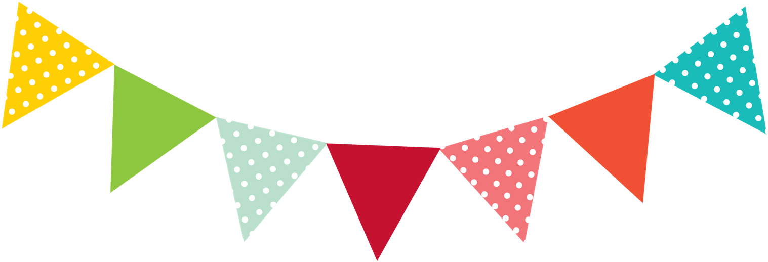 Carnival Banner Clipart - Colourful Bunting - Png Download ...