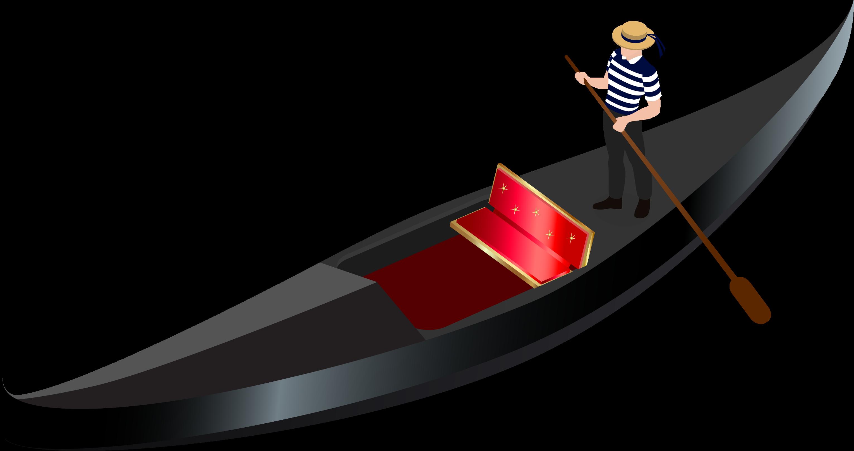 ftestickers #clipart #cartoon #man #boat #gondola - gondola clip art - png  download - full size clipart (#5273879) - pinclipart  pinclipart.
