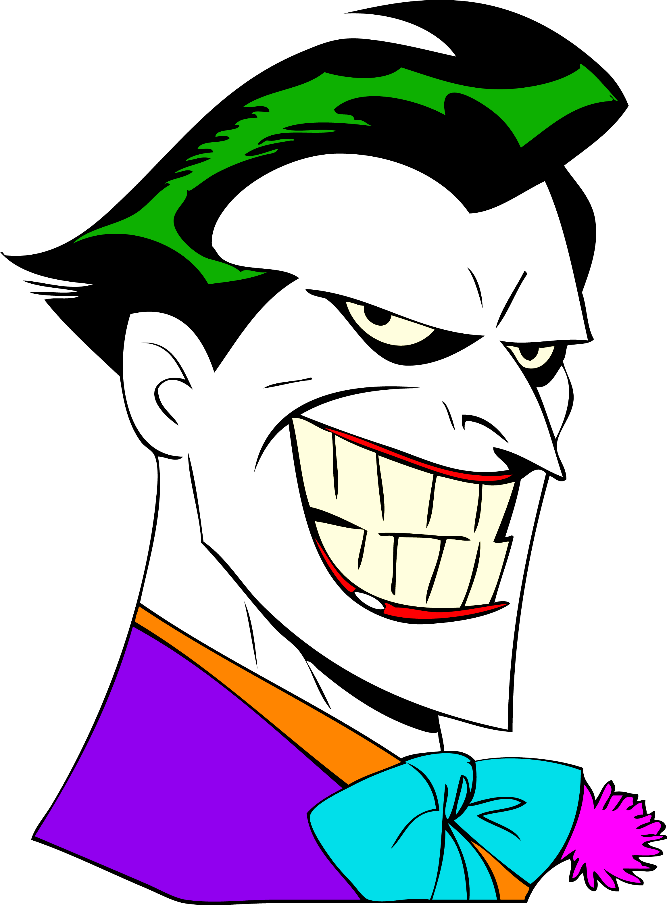 Joker Clipart Anonymous Face Joker Anonymous Face Joker Animated Series Drawing Png Download Full Size Clipart 5278196 Pinclipart