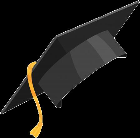 Degree Cap Png Image - Graduation Cap Vector Clipart ...