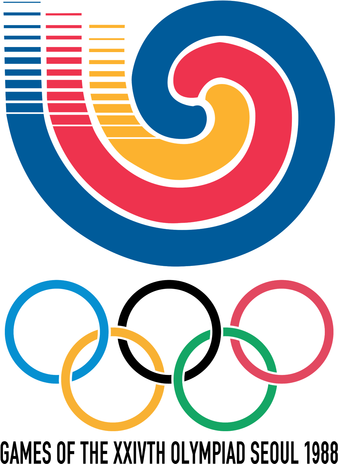 45 Olympic Logos And Symbols From 1924 To - 1988 Summer ...
