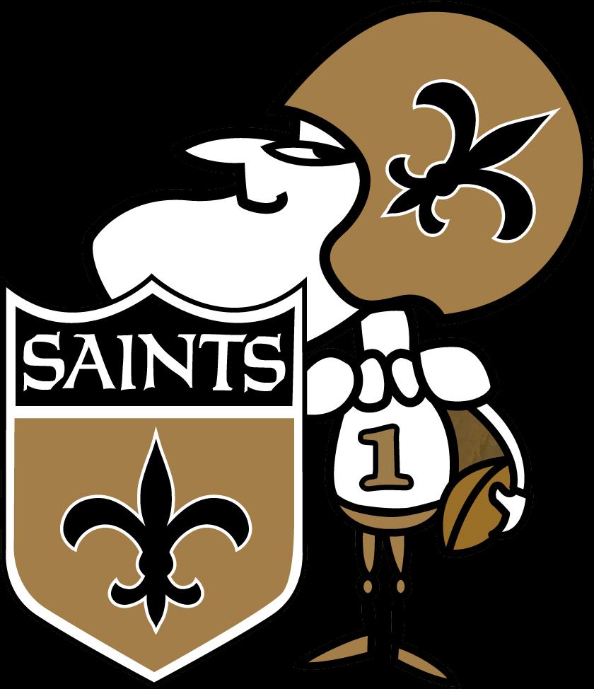 Louisiana Clipart Saints - New Orleans Saints Man - Png ...