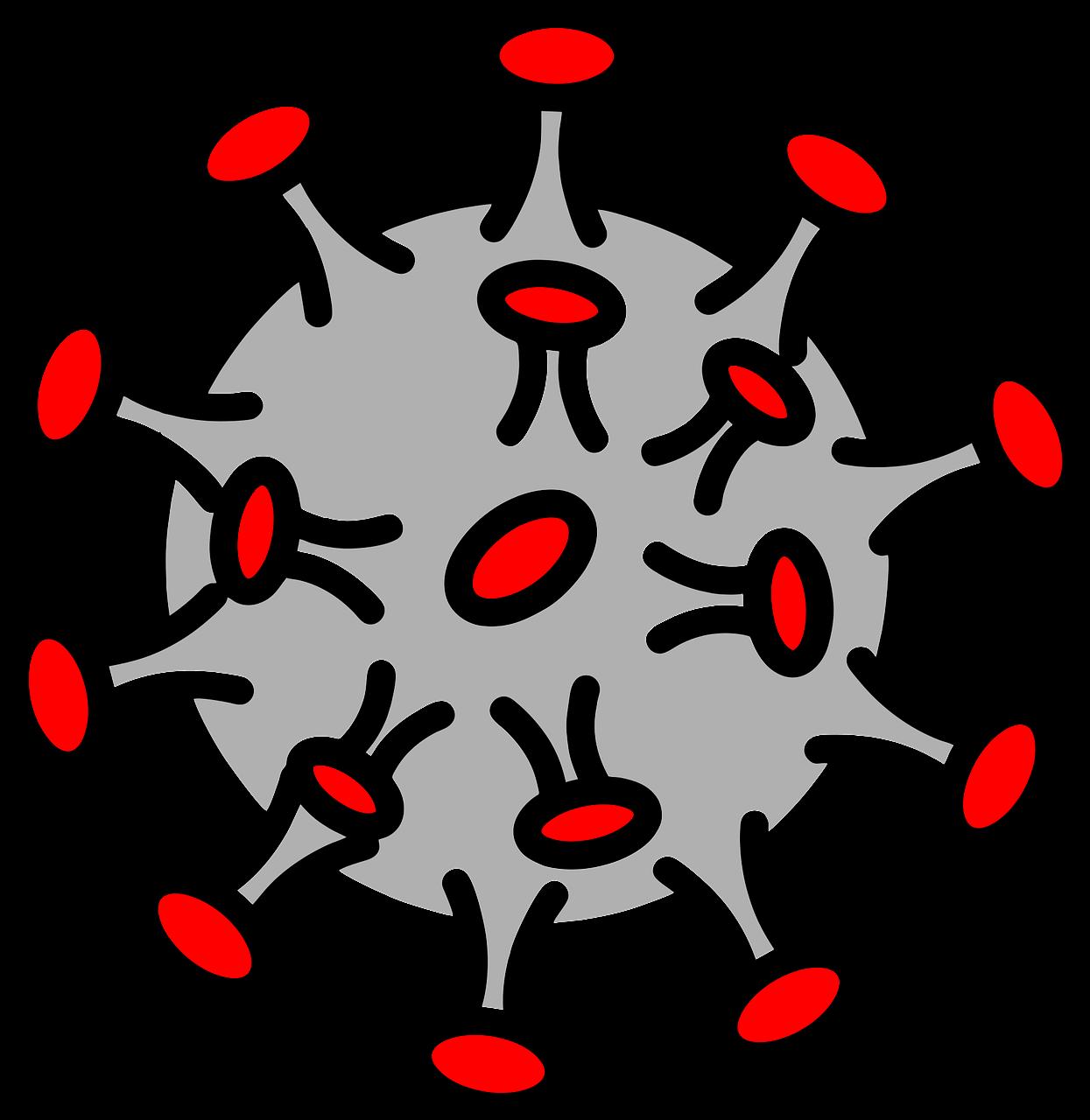 Gambar Virus Corona Vector Clipart Full Size Clipart 5340647 Pinclipart