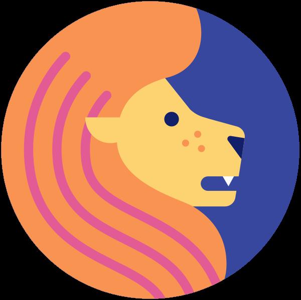 Leo Zodiac Sign - Leo Zodiac Sign Png Clipart - Full Size Clipart  (#5351258) - PinClipart