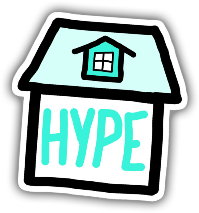 Hype House Logo Tik Tok Clipart Full Size Clipart 5370067 Pinclipart