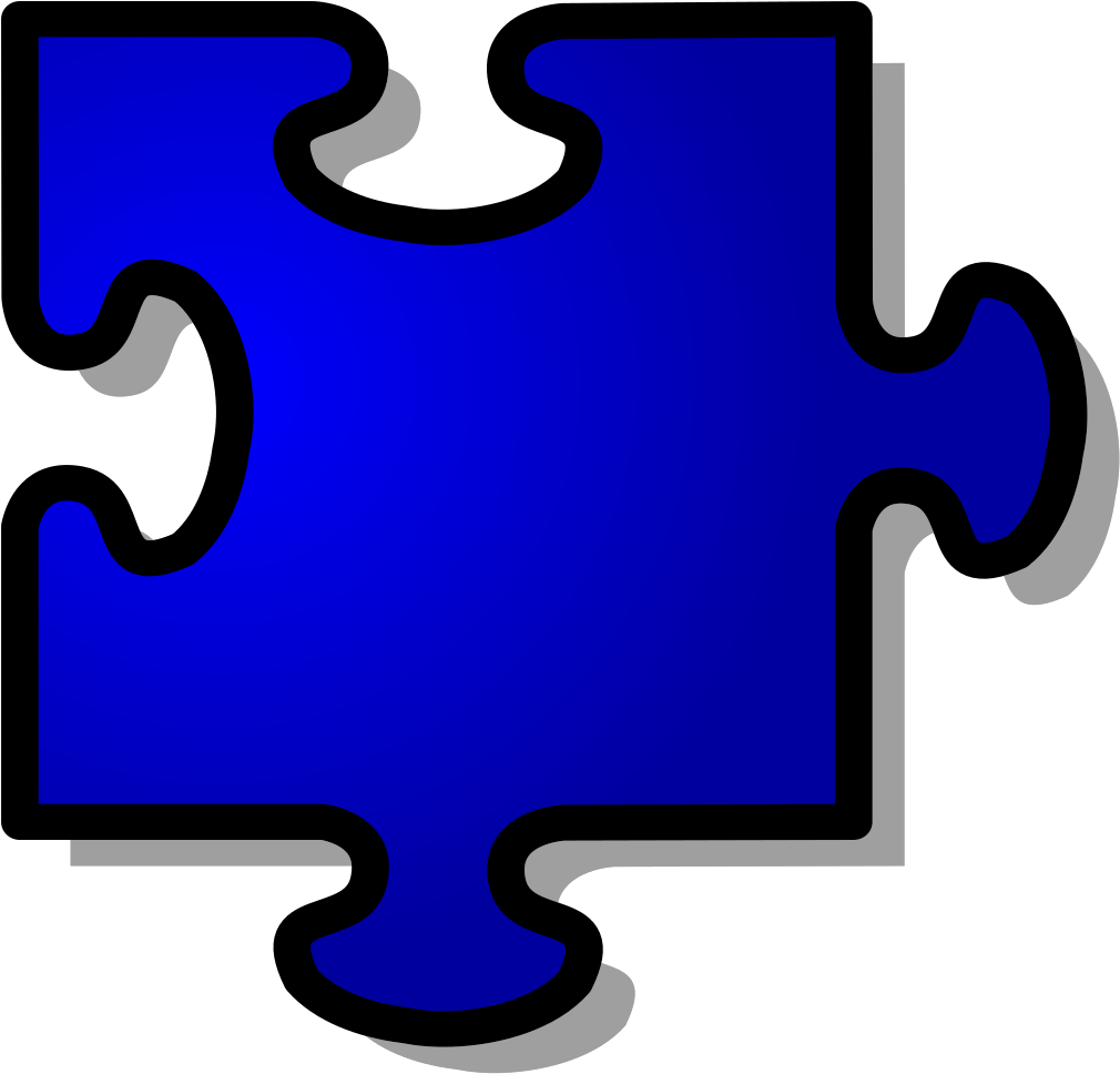 Autism Puzzle Piece Red Clipart - Full Size Clipart ...