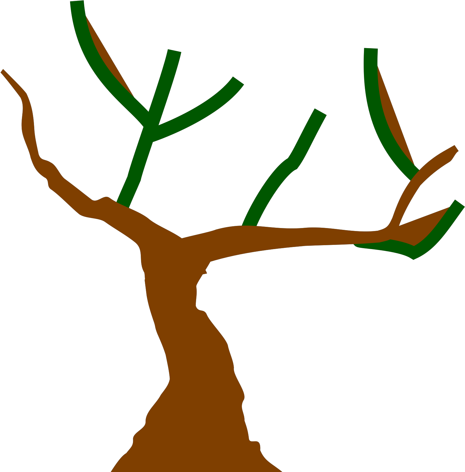 Clipart Tree Trunk - Png Download - Full Size Clipart ...