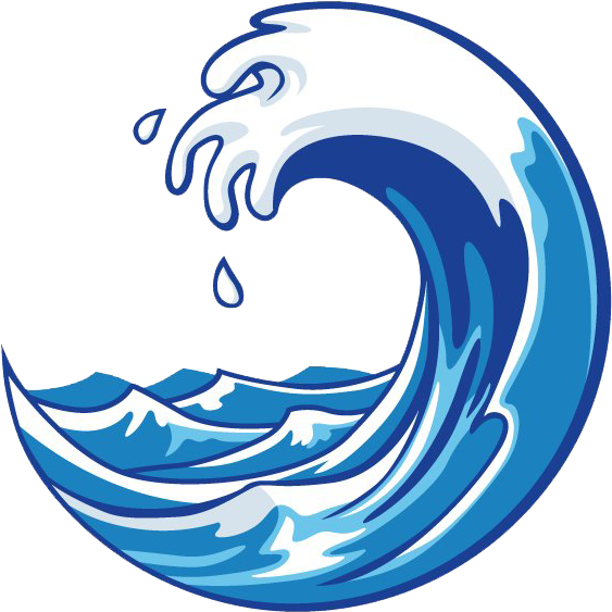 Abstract Wave Png - Cartoon Transparent Ocean Wave Clipart ...
