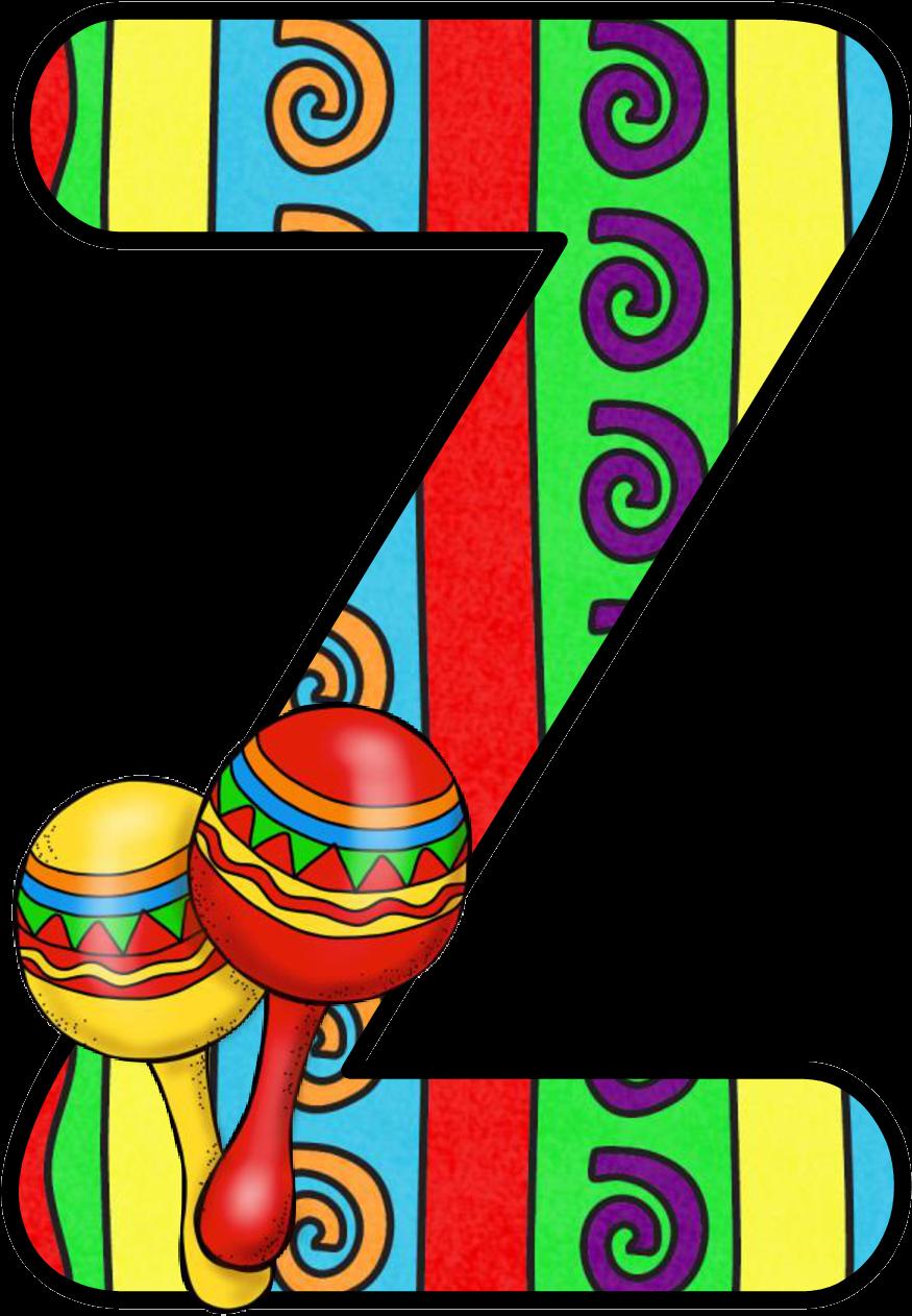 Abecedario Con Maracas - Alphabet Letter May 5 Mexico Png ...