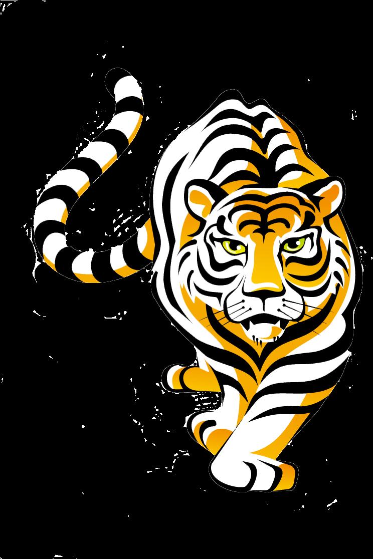 Transparent Tiger Face Clipart - Tiger Clipart Transparent ...