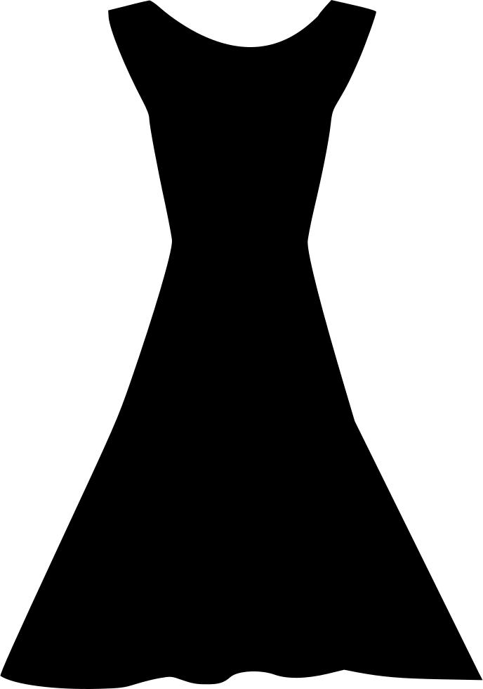 свою жизнь платье картинка силуэт ведает