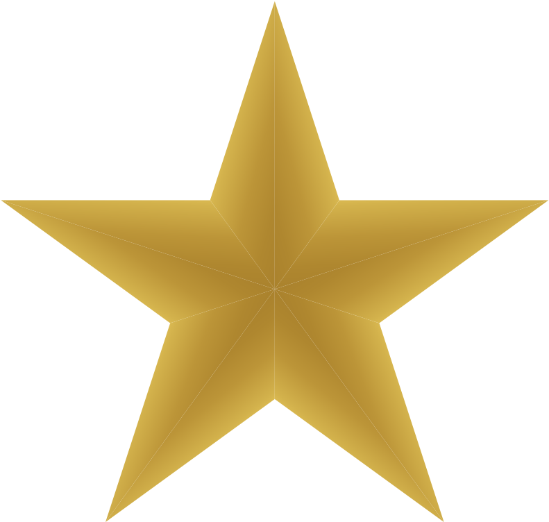 Gold Star Png - Dark Gold Star Png Clipart - Full Size ...