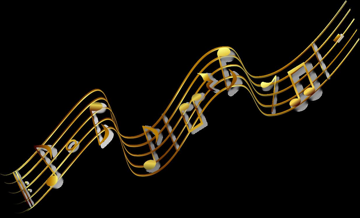 Sheet Music Clipart Music Bar - Golden Transparent Music ...