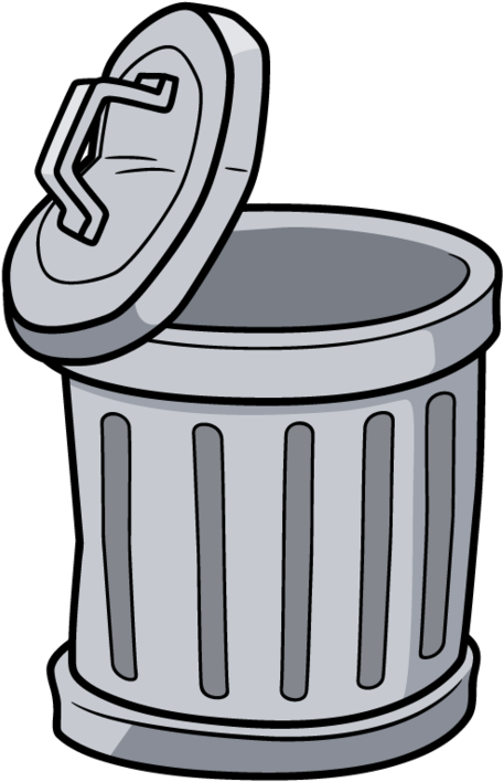 Download Trash Can Cartoon Png Clipart (#5599326) - PinClipart