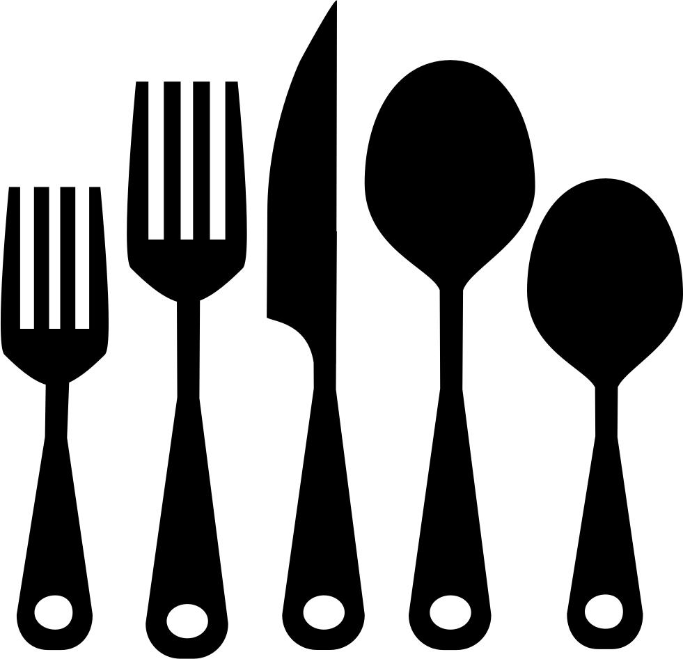 Kitchen Utensils Clipart Png Download - Utensilios De ...