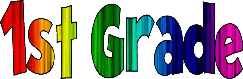 1st Grade Word Art Clipart - Full Size Clipart (#5687081) - PinClipart