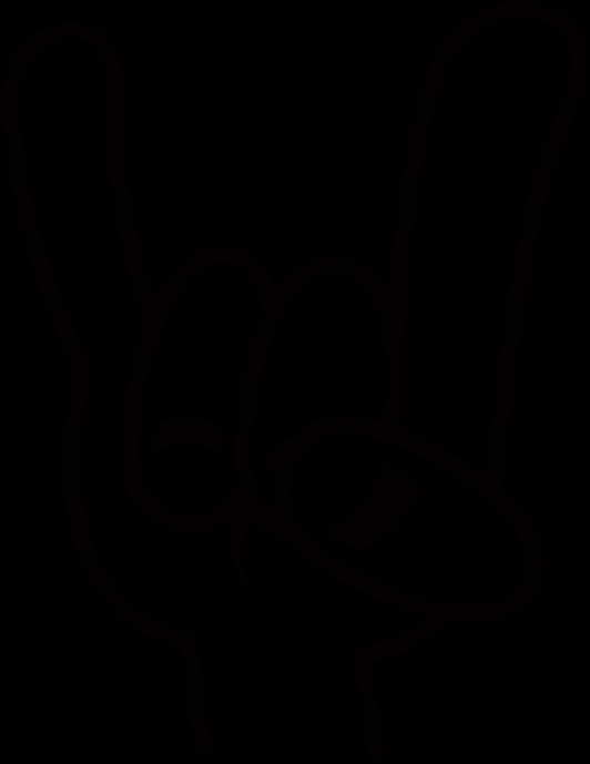 Metal Devil Horns Logo Clipart - Full Size Clipart ...